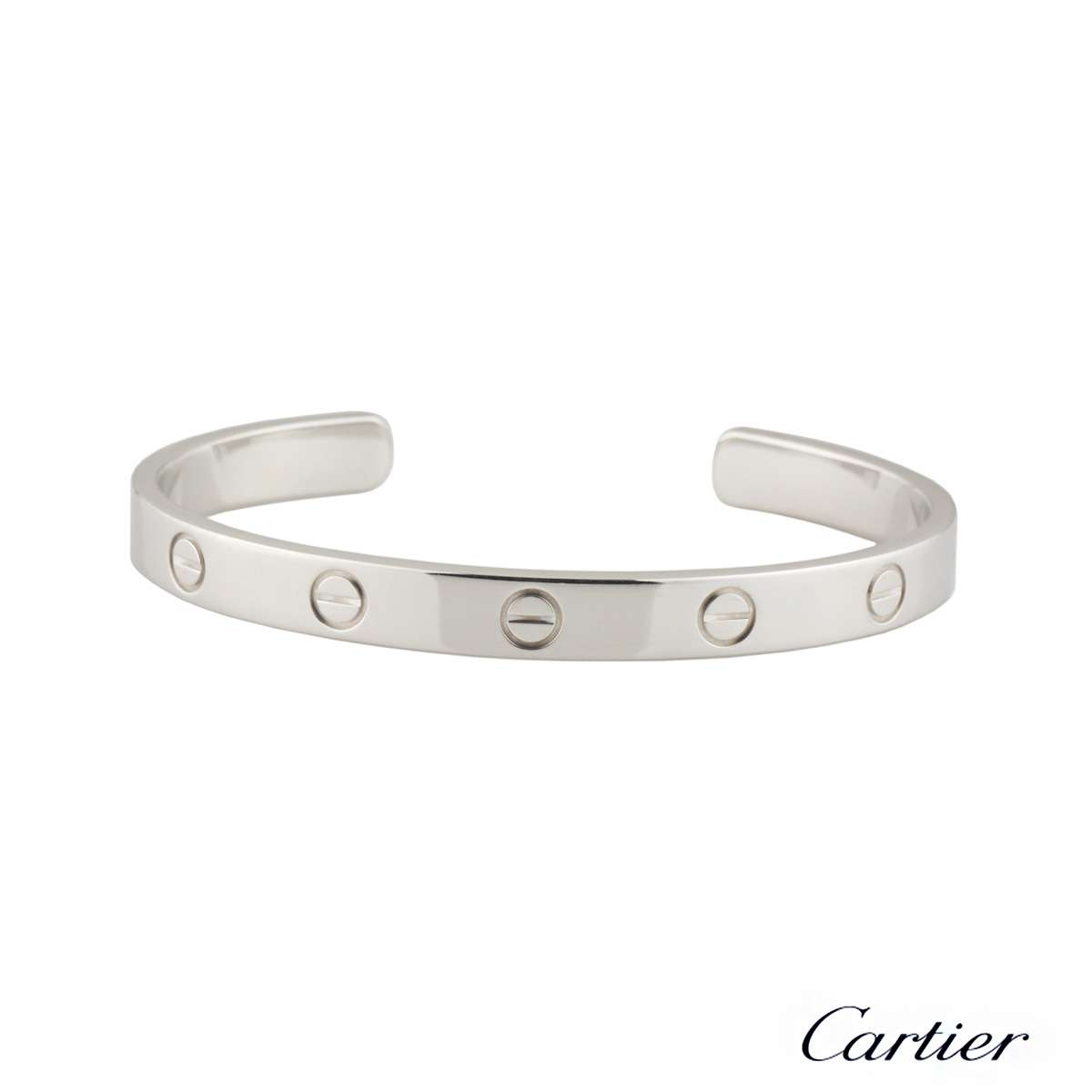 Cartier Love Cuff Bracelet Size 17 B6032517